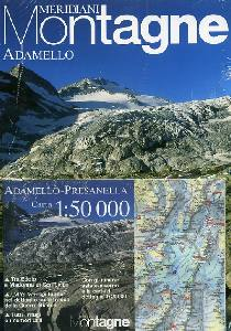 , Adamello con carta 1:50.000